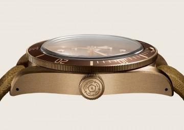 【2016 BASEL巴塞爾錶展報導】帝舵Heritage Black Bay Bronze青銅錶