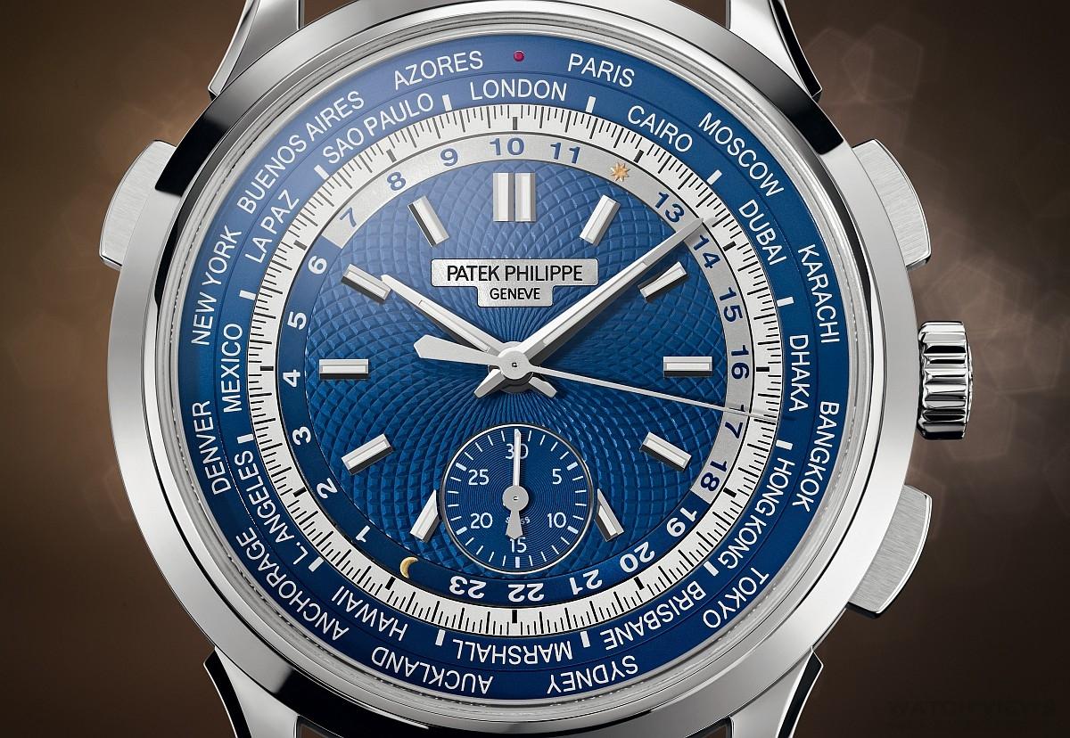 【2016 BASEL巴塞爾錶展報導】經典複雜功能新組合:百達翡麗 5930G世界時間計時碼錶