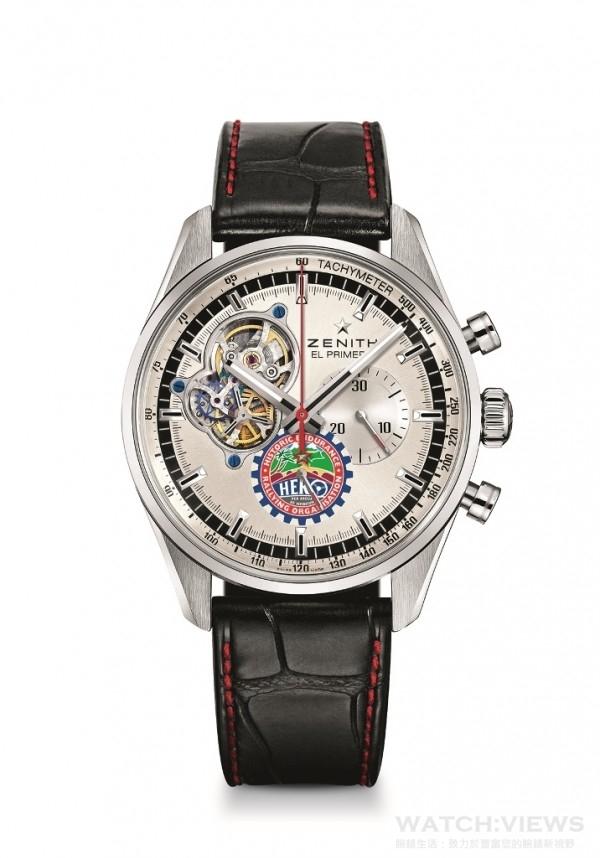 El Primero Chronomaster 1969 HERO Cup特別版腕錶,向與HERO的合作夥伴關係致敬,鏤空錶面展現傳奇的El Primero機芯的高速心臟跳動,矽質擒縱機構,El Primero導柱輪自動上鍊計時計芯,COSC瑞士天文台官方認證,限量發行100枚,台幣定價NTD312,000。