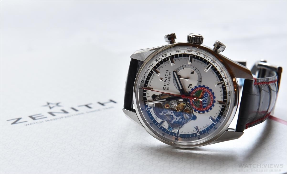 盡情奔馳:ZENITH與英國古董車耐力賽組織HERO攜手合作推出Hero Cup特別版腕錶
