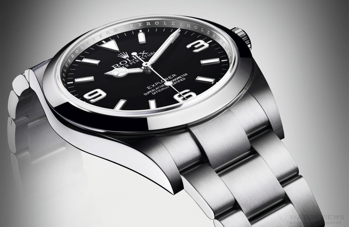 【2016 BASEL巴塞爾錶展報導】藍色全夜光顯示,確保一目了然:勞力士推出新款Explorer Ref.214270蠔式恒動探險家型腕錶
