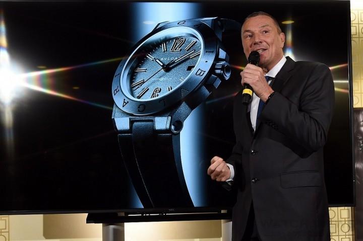 BVLGARI總裁Jean-Christophe Babin介紹BVLGARI DIAGONO高科技全新概念錶款