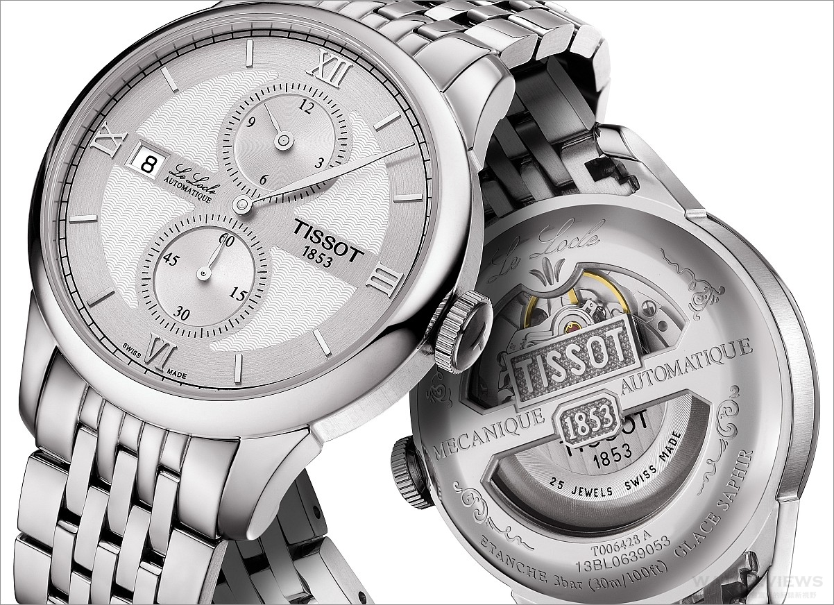 【2016 BASEL展前預報】向製錶傳統致敬:瑞士天梭表Le Locle Regulateur腕錶