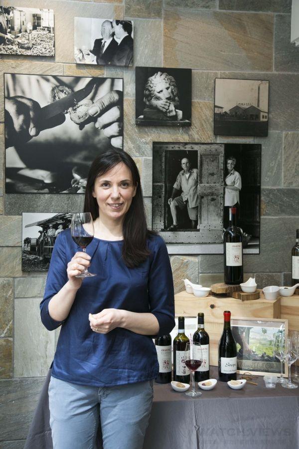 Monte Dall' Ora酒莊負責人Alessandra Zantedeschi。