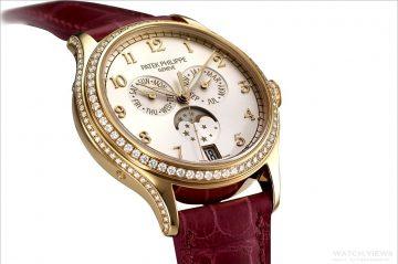 優雅流轉似水年華:百達翡麗萬年曆女錶與年曆女錶