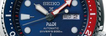 SEIKO精工宣布將與全球最大專業潛水教練協會PADI建立夥伴關係