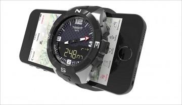天梭表推出首款智慧腕錶Smart –Touch