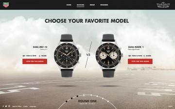 「腕」中選一:TAG Heuer泰格豪雅推出線上計畫《THE AUTAVIA CUP》,票選Autavia 2017年復刻錶款