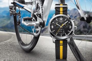 【2016 BASEL巴塞爾錶展報導】耐力是關鍵:天梭PRC 200環法自行車賽特別版腕錶