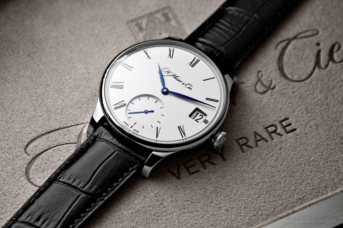 【2016 BASEL巴塞爾報導】大即是美:H. Moser & Cie. Venturer Big Date冒險者大日曆白金款腕錶