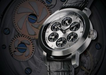 【2016 BASEL巴塞爾展前報導】多國時間,一目了然:AerowatchRenaissance 7 Time Zones文藝復興系列7地時區腕錶