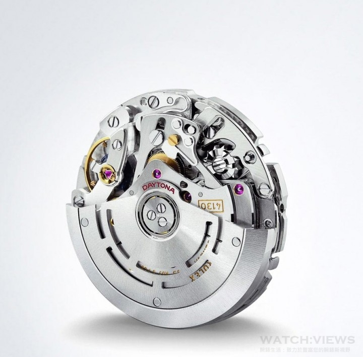 完全由勞力士設計及製造的4130型機芯,蘊含創新與專利的技術,性能更超卓。