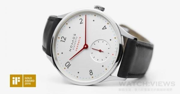 Minimatik 不鏽鋼錶殼,錶徑35.5毫米,時、分、小秒針,DUW3001自動機芯,藍寶石水晶鏡面,防水30米。