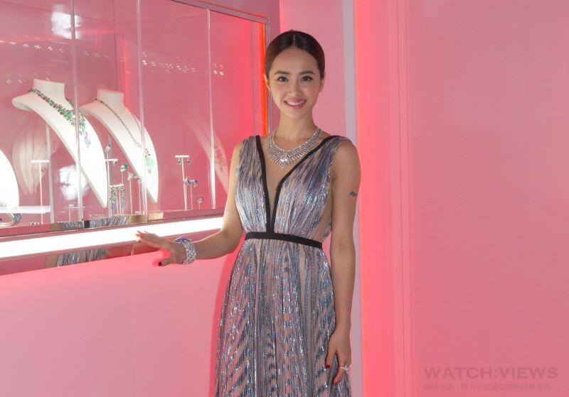 《頂級珠寶展》卡地亞珠寶130億迎賓 Jolin貴氣穿戴12億