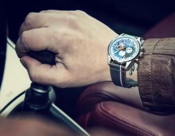 戴錶駕車去──影帝吳鎮宇與Zenith齊力助陣環法古董車拉力賽
