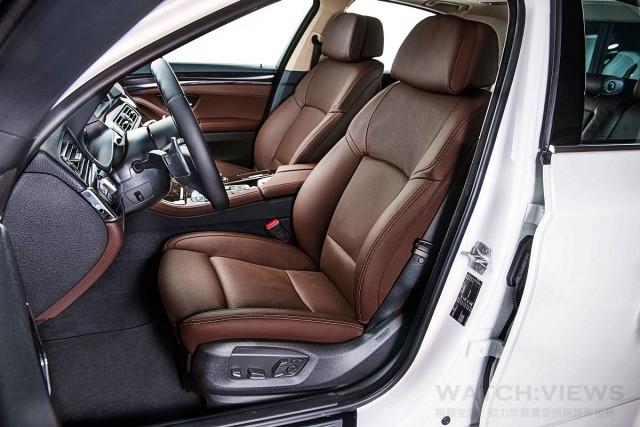 雙前座舒適型通風加熱座椅含電動腰靠