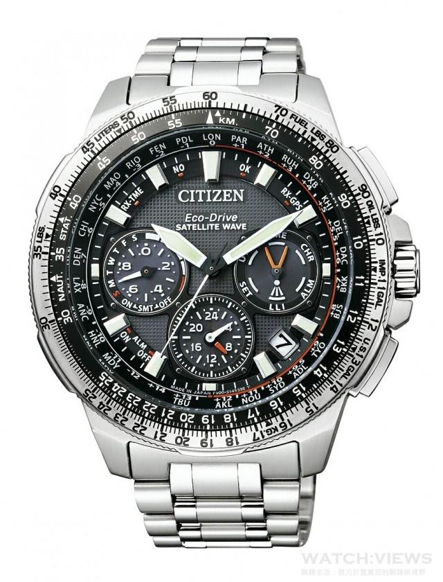 PROMASTER ·GPS衛星對時腕錶,型號CC9020-54E,建自售價NTD68,800。