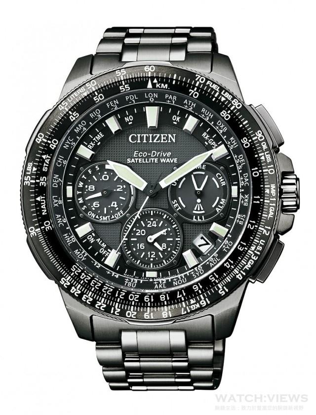 PROMASTER ·GPS衛星對時腕錶,型號CC9025-51E,建自售價NTD71,800。
