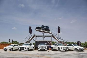 《2016 賓士休旅越野極限體驗》挑戰開始!Mercedes-Benz豪華休旅全軍壓境中台灣,氣宇凌駕地平線 The new GLS同場首演