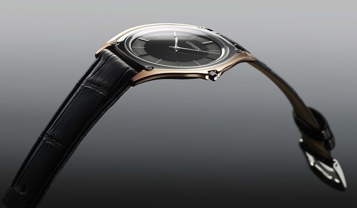 CITIZEN 2016旗艦款Eco-Drive One—全球最薄光動能腕錶,機芯厚度僅1毫米