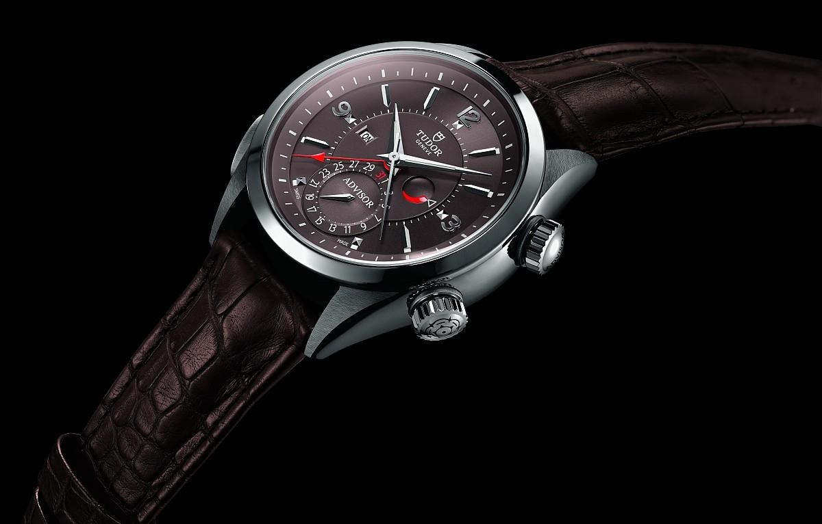 重現品牌 1957 年經典:帝舵Heritage Advisor鬧鈴錶推出全新Cognac干邑色錶盤款式