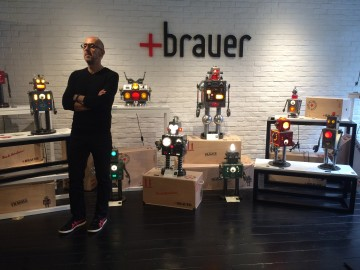 昨日素材,今日藝術──MB&F M.A.D.Gallery Taiwan +Brauer「Viva la Robolución!」夜光機器人大展