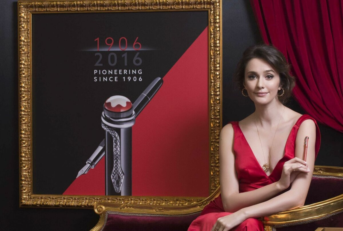 禮讚時代先鋒,續寫百年鉅作:萬寶龍推全新「紅與黑系列」書寫工具,歡慶品牌110週年