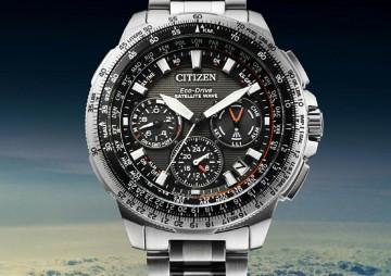 採用Duratect表面硬化技術之超級鈦錶殼:CITIZEN PROMASTER光動能GPS衛星對時錶
