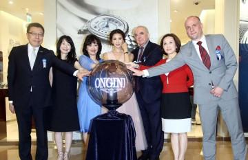 獻給優雅的母親──浪琴表全球代言人林志玲展演圓舞曲系列腕錶