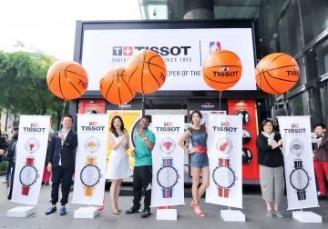 Tissot x NBA──攜手傳奇球星Muggsy Bogues展演NBA特別錶款