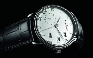 寶鉑Blancpain Villeret系列不鏽鋼款兩地時間年曆腕錶