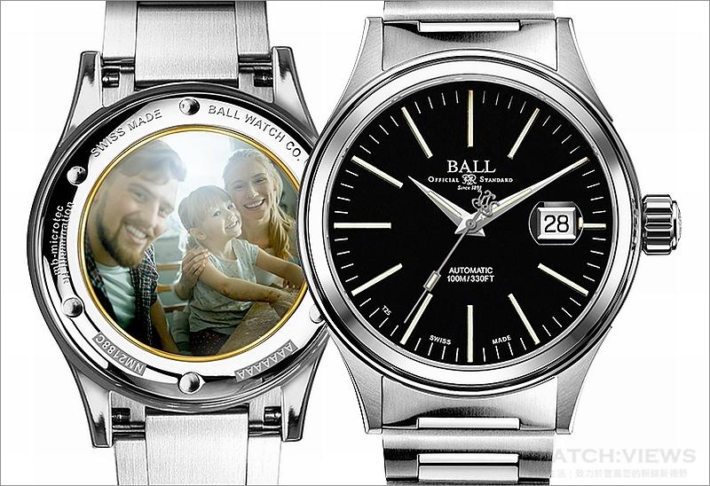 與至親好友緊握難忘時刻:BALL Watch推出Paintprint手工搪瓷照片底蓋製作服務
