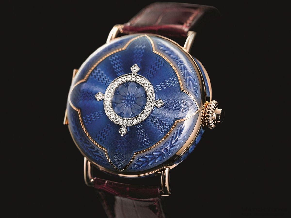 以懷錶靈感發想 亨利慕時推出萬年曆經典HERITAGE限量版