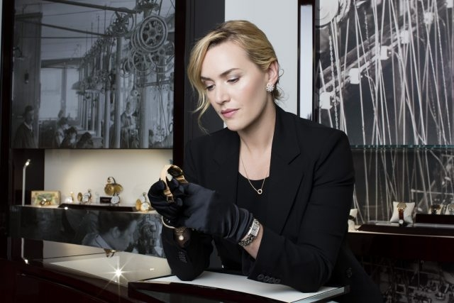 浪琴表優雅大使凱特.溫斯蕾珍視浪琴表館藏腕表