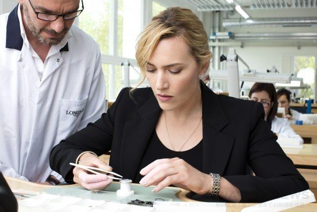 浪琴表優雅大使凱特.溫斯蕾體驗製錶工藝