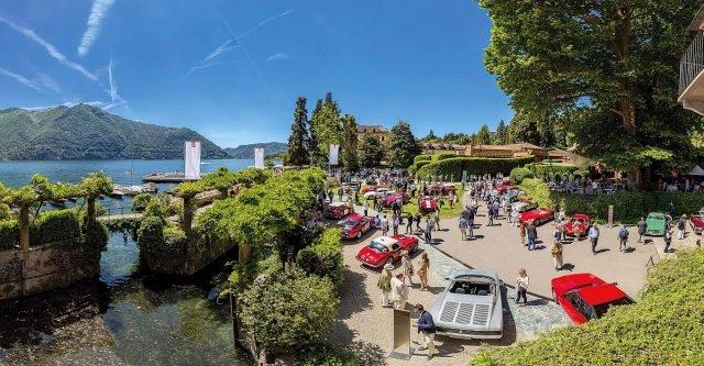 優雅汽車與壯麗環境:2016年Concorso d'Eleganza Villa d'Este古董車展