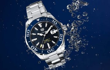 TAG Heuer泰格豪雅以源自於深海魅力的Aquaracer迎接初夏的來臨