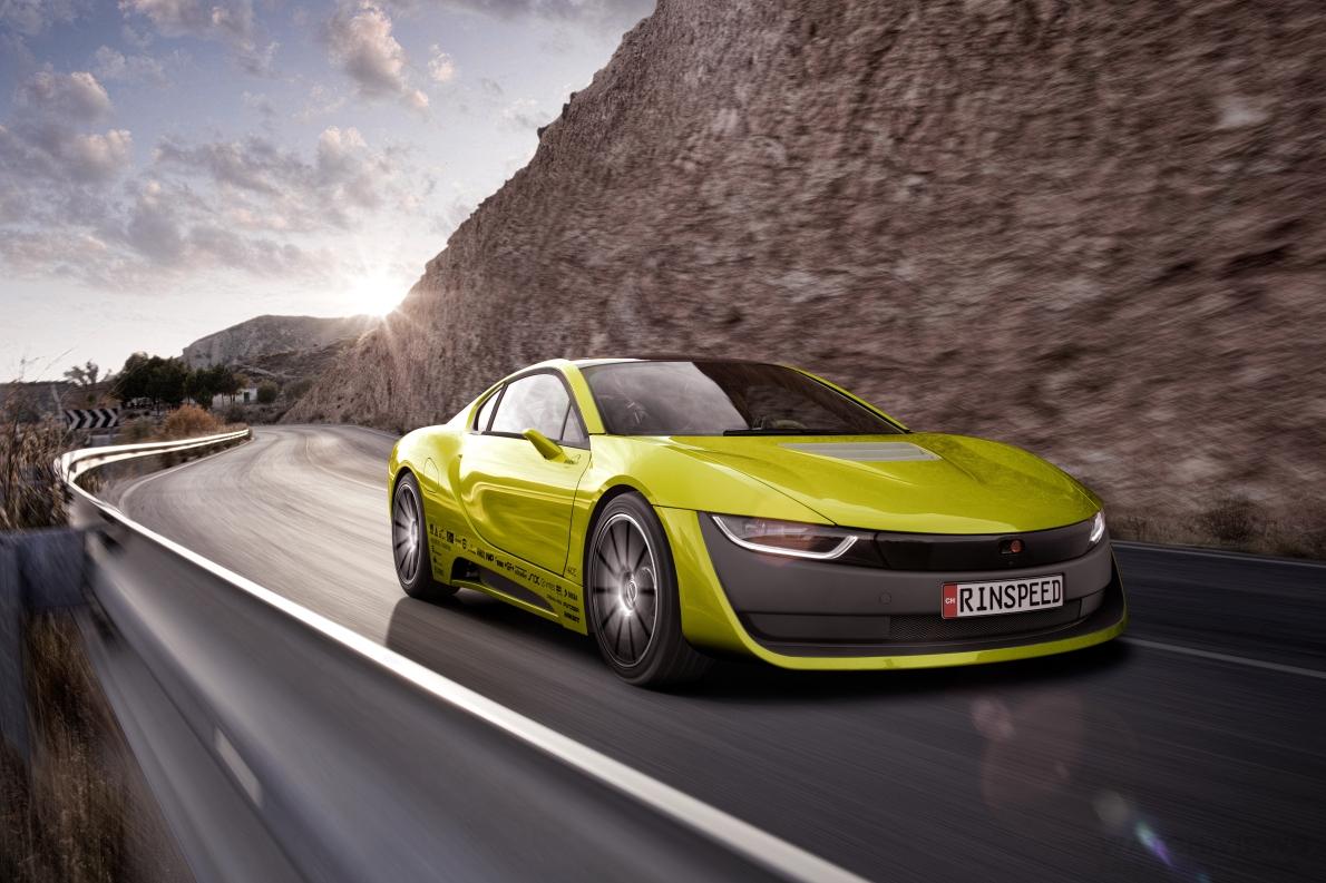 超級上鍊器,寶齊萊與Rinspeed全新Σtos概念車的完美合體