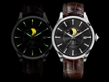 月夜越明──BALL Watch Trainmaster月相腕錶