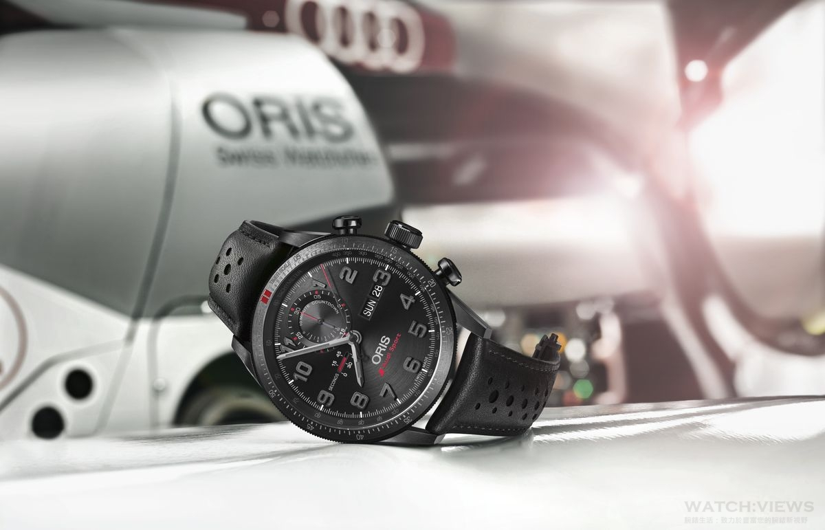 競速時光──Oris Audi Sport II & Audi Sport GMT