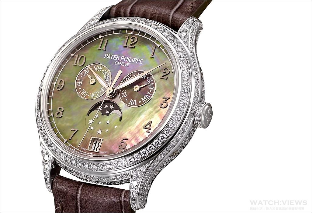 揮灑典雅華麗的美好時光:百達翡麗全新REF.4947與4948年曆女錶