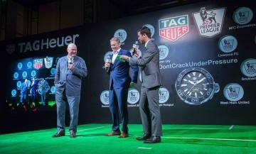 TAG Heuer泰格豪雅正式與英格蘭足球超級聯賽Premier League簽約合作