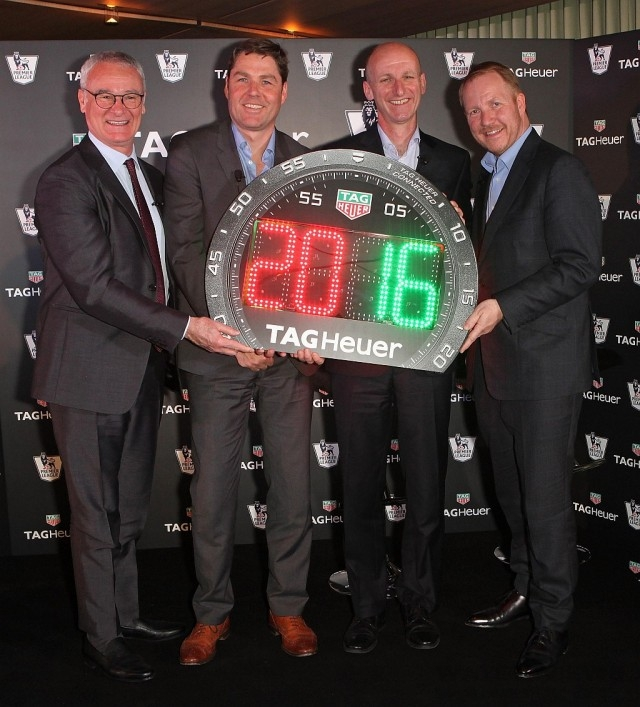 TAG Heuer Carrera計時碼錶造型時間牌