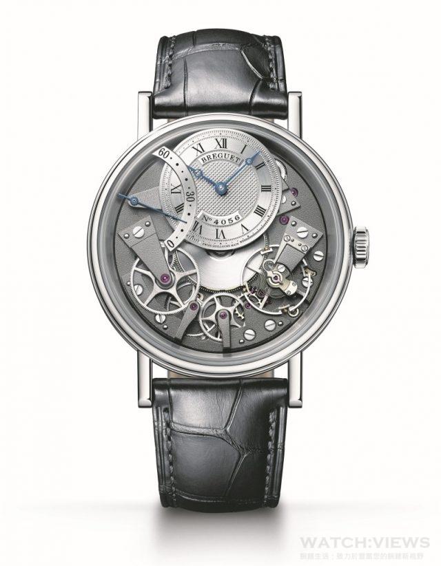 寶璣Tradition Automatique Seconde Rétrograde 7097腕錶,建議售價NTD1,080,000。