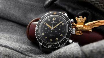 經典現身 ZENITH於1960年代發行的古董軍用飛行腕錶CP-2創下拍賣價記錄