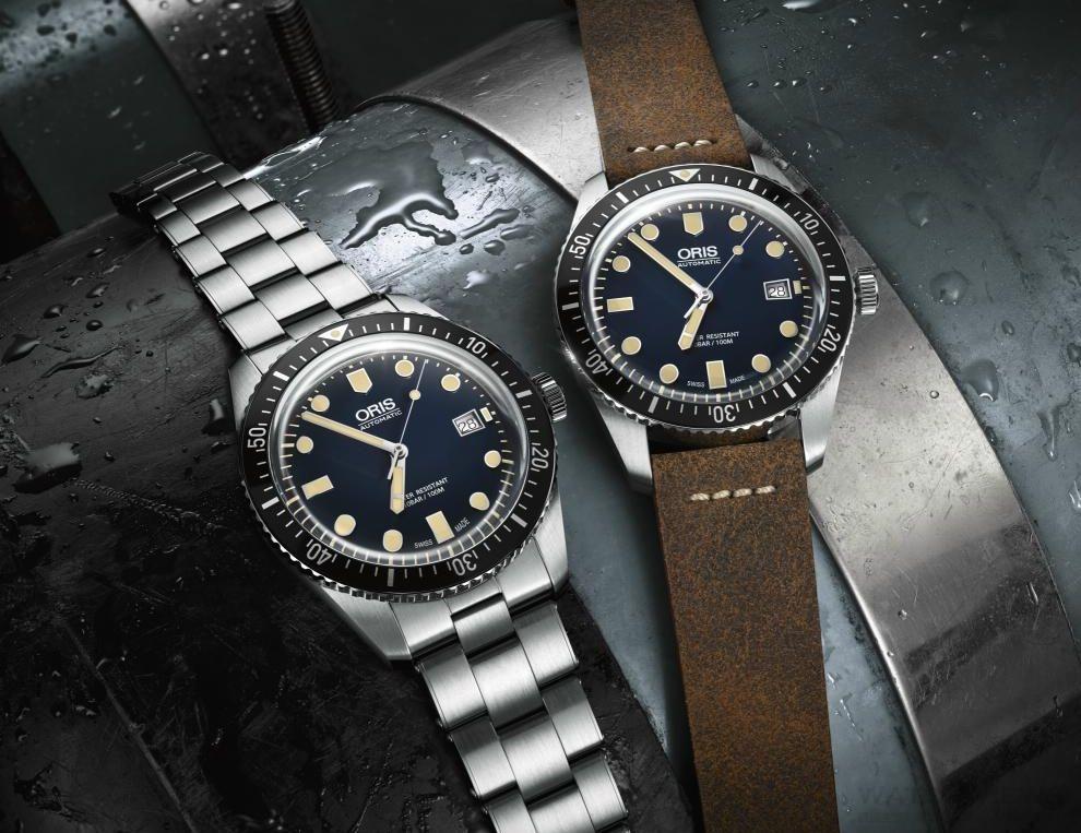 Oris Sixty-Five Diver 42 Dark Blue 沈默的先驅者