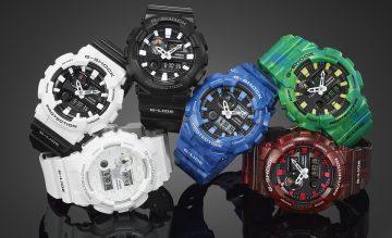 潮汐資訊+溫度感測強悍機能:CASIO G-SHOCK G-LIDE系列多功能衝浪新錶款