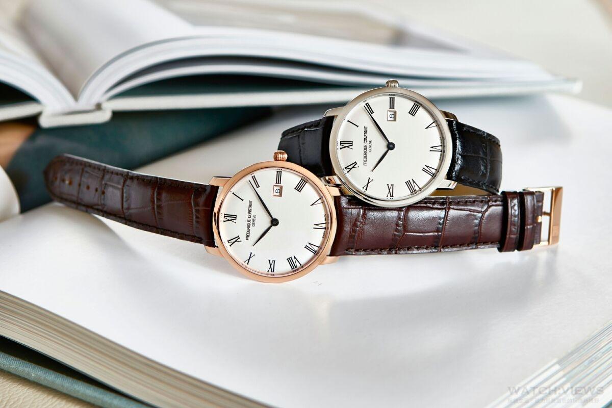 Frederqie Constant康斯登全新超薄自動系列腕錶Slimline Automatic隆重登場