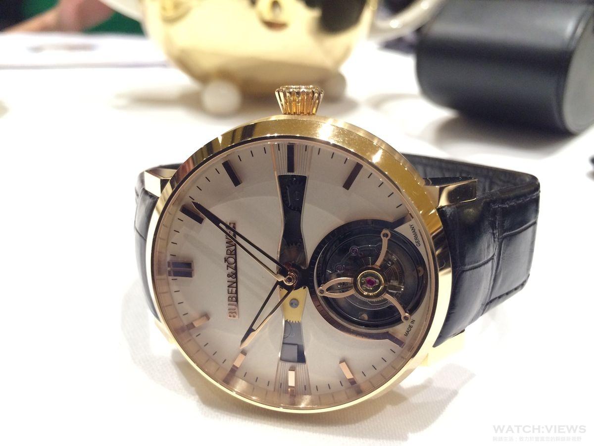 從收藏盒、座鐘到頂級腕錶──Buben & Zörweg ONE Tourbillon進軍台灣