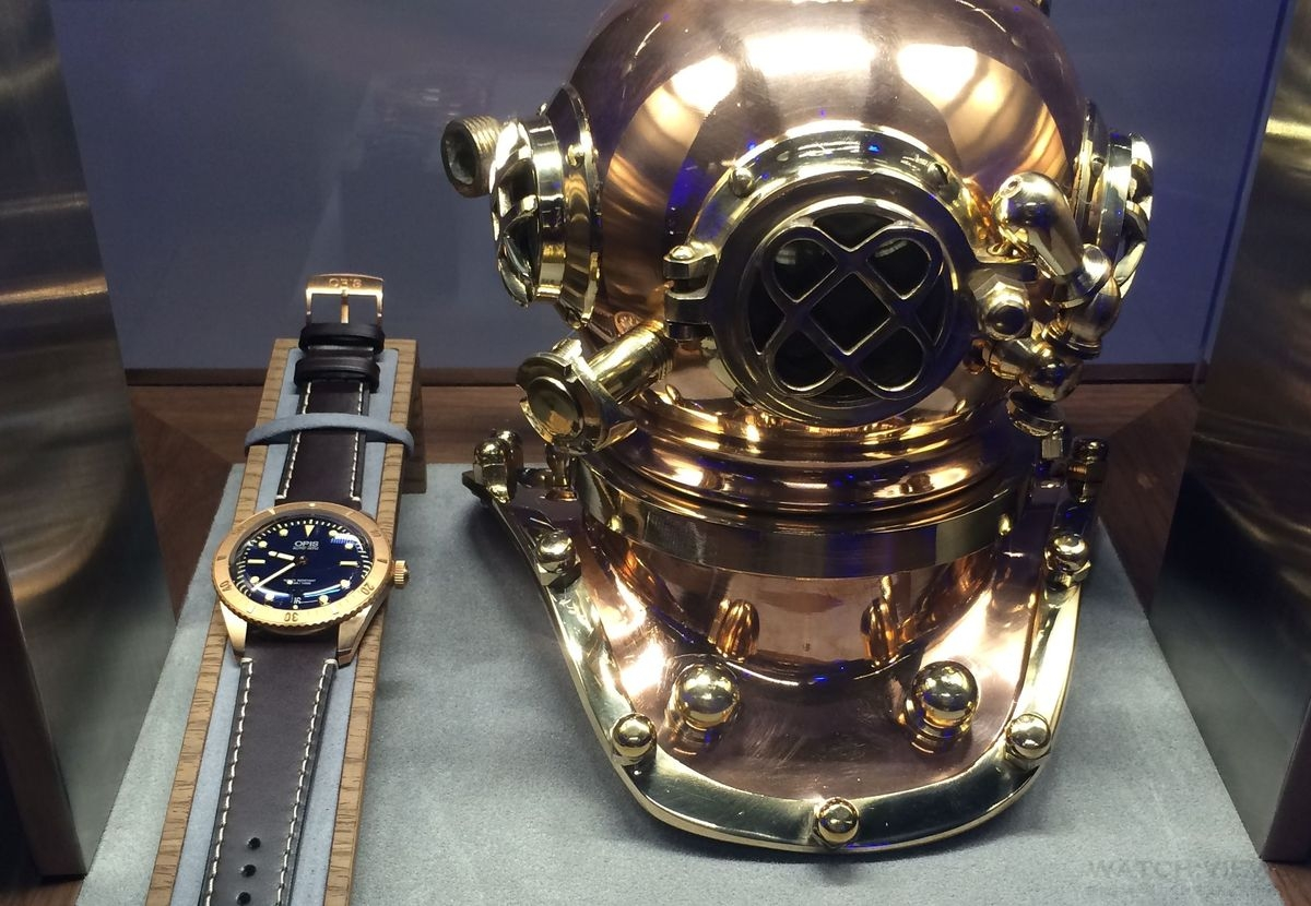Oris的夏日時光,全新潛水腕錶在台上市